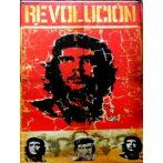 CHE GUEVARA - REVOLUCION. 30x40.cm. fém tábla kép