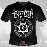 Burzum - Old Logo zenekaros  póló.