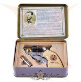 """Colt knife """"Jesse James"""" + kis golyókés fémdobozban . 774-3099.    hobby kés, bicska, tőr, dísztárgy"""