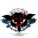 DEVIL SPIDER.  fém  jelvény