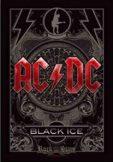 AC/DC - Black ice TEXTILE POSTER. zenekaros zászló