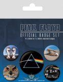 Pink Floyd. Official badge set.  jelvényszett