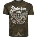 SABATON - War and Peace Eagle Camo  zenekaros  póló.