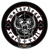 Motorhead -  'Biker Badge' Woven Patch.    import zenekaros felvarró