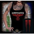 Marilyn Manson - Eagle logo  női póló, trikó