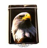 EAGLE. fém doboz, cigi, dohány, apró cikk tartó