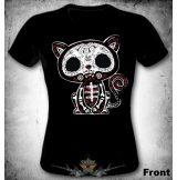 Kitty bones cat  női póló