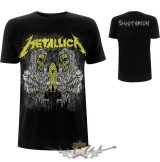 Metallica - Unisex Tee.  Sanitarium (Back Print).  zenekaros  póló.