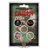 Queen -  'News Of The World' Button Badge Pack.   jelvényszett