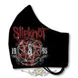 SLIPKNOT - IOWA logo - Textil pamut kétfalas szájmaszk.   maszk, védőmaszk