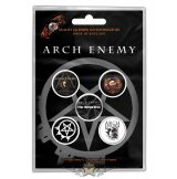 Arch Enemy - 'Will To Power' Button Badge Pack.   jelvényszett
