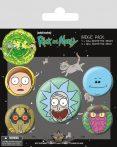 Rick and Morty - Heads.  jelvényszett