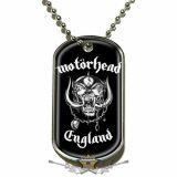 Motorhead - Dog Tag Pendant.  England. DT019.  medál, dog tag
