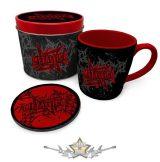 Metallica  – Stars And Wings Mug & Coaster In Tin.  fémdobozos bögre