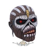 Iron Maiden - The Book of Souls Head Box. B5267S0. koponya figura  RITKA !
