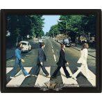 3D. The Beatles - Abbey Road 3d.  3 dimenzios keretezett kép