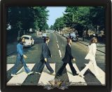 3D. The Beatles - Abbey Road 3d.  3 dimenzios keretezett kép