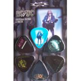 AC/DC - SERIA 4. gitárpengető szett