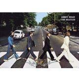 THE BEATLES - ABBEY ROAD.  20X30.cm. fém tábla kép