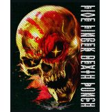Five Finger Death Punch -  'And Justice For None' Woven Patch.    import zenekaros felvarró