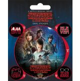 STRANGER THINGS (ONE SHEET) VINYL STICKER.  matrica szett