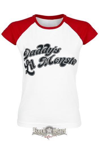 SUICIDE SQUAD - Harley Quinn - Daddy s Little Monster . női póló ... 2f7d830cef