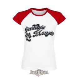 SUICIDE SQUAD - Harley Quinn - Daddy's Little Monster .  női póló