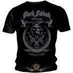 BLACK SABBATH - THE END. zenekaros póló