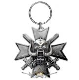 Motorhead -  'Bad Magic' Keyring .   import fém kulcstartó