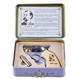 """Colt knife """"Wyatt Earp"""" - + kis golyókés fémdobozban . 774-3095.    hobby kés, bicska, tőr, dísztárgy"""
