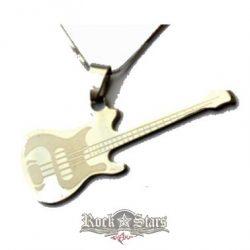 Gitár. nyaklánc, medál