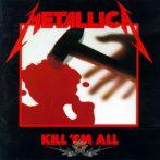 METALLICA - KILL EM ALL.   SFL. felvarró