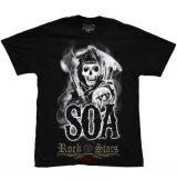 Sons Of Anarchy - Smoke SOA Reaper.  motoros póló