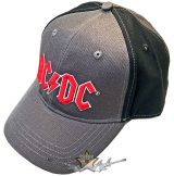 AC/DC - Unisex Baseball Cap.  Red Logo (2 Tone).   baseball sapka
