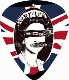 SEX PISTOLS - GOD SAVE THE QUEEN.  pengető nyaklánc
