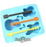 Jégkocka - Ice tray - Gitár.  jégkocka forma