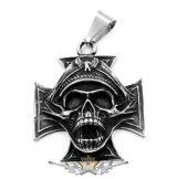 IRON CROSS - Soldier - Katona. Stainless Steel.   nyaklánc, medál
