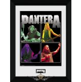 Pantera - Band. keretezett kép. 35 x 40 Collector Print