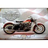 Motor Speed King.  20X30.cm. fém tábla kép