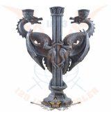 Three armed dragon candle - 3 fegyveres sárkány .  gyertya tartó