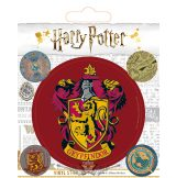 HARRY POTTER (GRYFFINDOR) VINYL STICKER.  matrica szett