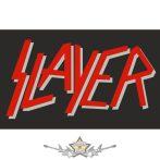 SLAYER - LOGO  felvarró