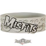 MISFITS - LOGO & SKULLS wristband.   karkötő, csuklópánt