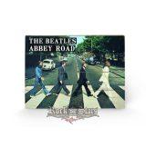 The Beatles - Abbey Road wood. 40x59.cm. fa táblakép