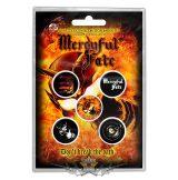 Mercyful Fate - Button Badge Pack.  Don't Break the Oath.   jelvényszett