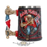 Iron Maiden - 3D. Tankard 14cm. korsó, kehely.  ELŐRENDELHETÓ !