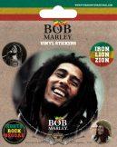 BOB MARLEY. Vinyl stickers. matrica szett