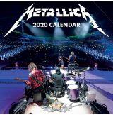 Metallica - 2020. fali naptár, calendar