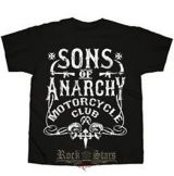 Sons Of Anarchy - T Shirt official. MOTORCYCLE CLUB.