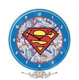 Superman – Logo Wall Clock.  falióra